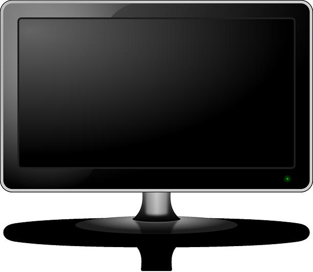 plochý monitor