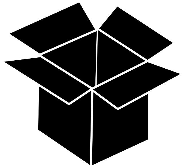 černá krabice