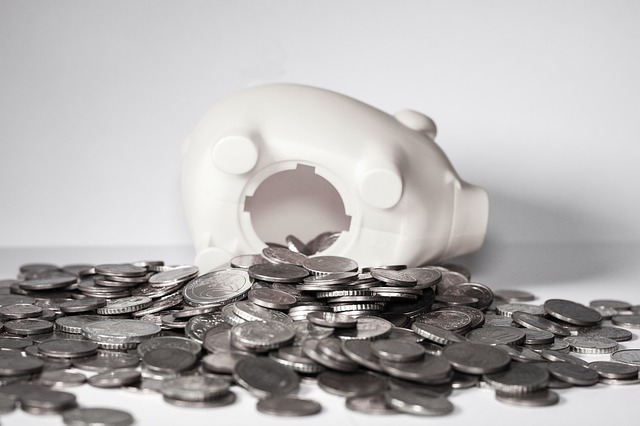 mince z pokladničky