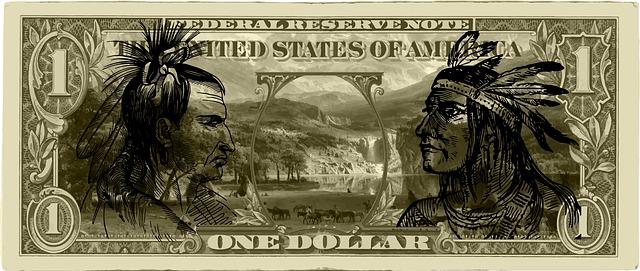 Bankovka amerického dolaru
