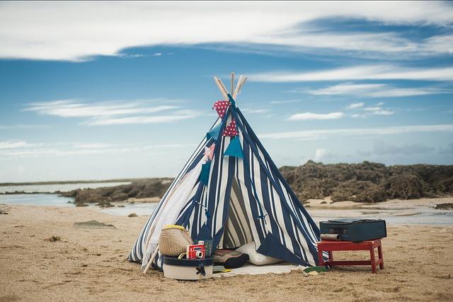 Indiánské teepee do dětského pokoje i na zahradu
