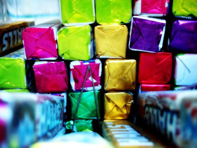 plastové barevné obaly