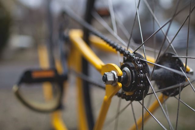 Detail kola-převody