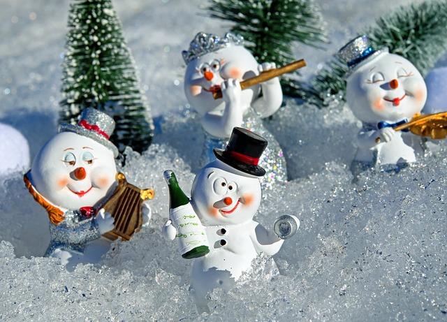 opilí sněhuláci