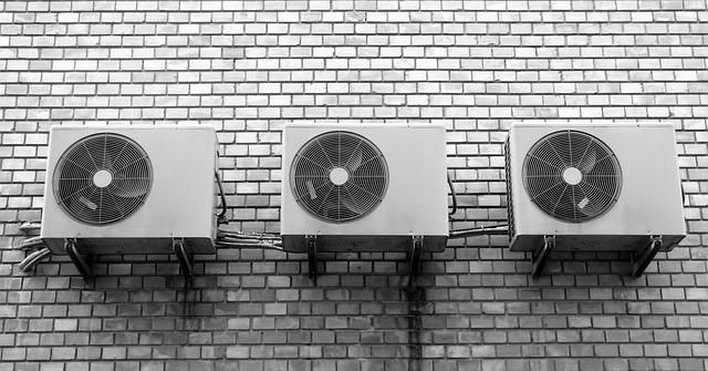 Klima na stěně